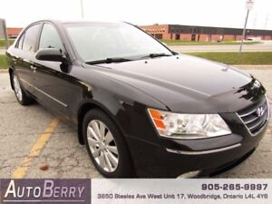 2009 Hyundai Sonata Limited **CERTIFIED ACCIDENT FREE 1 OWNER**
