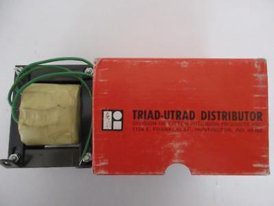 Triad Power Transformer Secondary 60 Vac Ct  4 Or 6 Amp Primary 115v Volts Nos