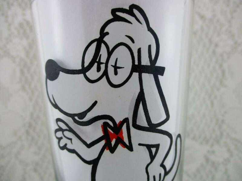 Vintage Mr. Peabody from Rocky & Bullwinkle Drinking Collector Glasse~Pepsi
