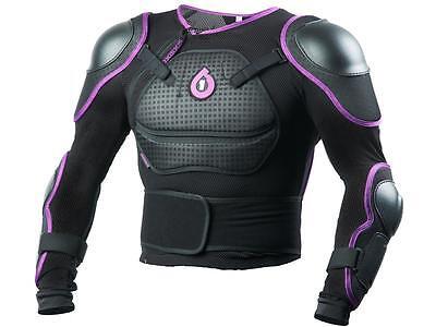 SixSixOne 661 Comp Pressure Suit Body Armor M Medium Black Chest Protector