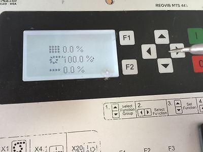 REO REOVIB MTS 443 CONTROLLER
