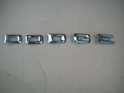 - NOS MoPar 1974-1977 Dodge B series Van Hood D O D G E Letter Set B100 B200 B300