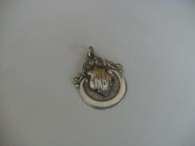 Solid Silver Albert Chain Fob Medal