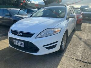 2011 Ford Mondeo MC LX TDCi White 6 Speed Direct Shift Wagon Hoppers Crossing Wyndham Area Preview