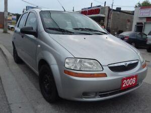 2008 Suzuki Swift $2995 CERTIFIED / GAS SAVER  / 1.6 LT / 161,00