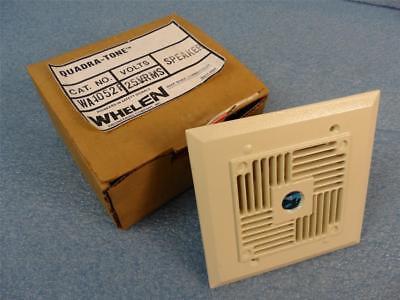 Whelen Cat. No. Wa1052f Quadra-tone Speaker W Original Box