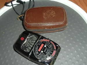 VERY-RARE-GE-DW-49-not-DW-48-Light-meter-Collectors-item