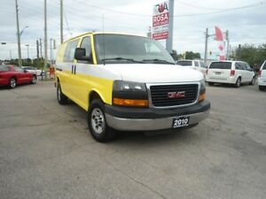 2010 GMC Savana 2500 CARGO 2500 LOW KM SAFETY A/C PW PL NO ACCID