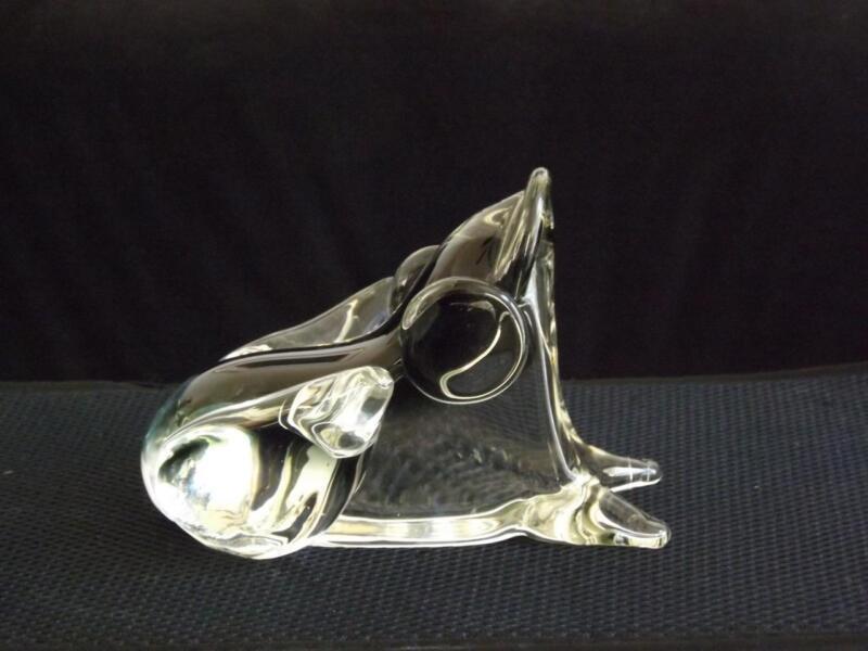 Murano Sommerso Glass Frog Signed Bottaro