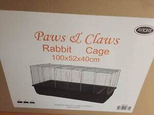 Indoor Rabbit Cage 100x52x40cm  - with Plastic Base Brand New Osborne Port Adelaide Area Preview
