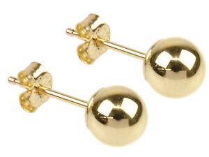 9ct gold stud sleeper earrings butterfly scroll