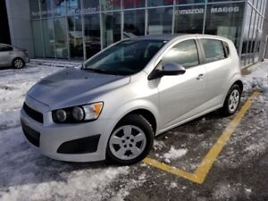 2015 Chevrolet Sonic 6 000KM** LS AUTOMATIQUE BLUETOOTH