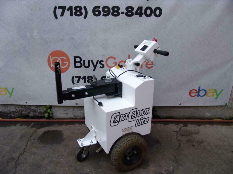 CartCaddy Cart Caddy DJ Products Tugger Material Mover Electric Tug Trailer #2