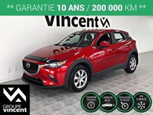 2017 Mazda CX-3 GX **GARANTIE 10 ANS**