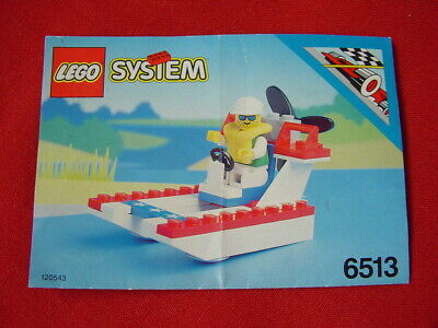 LEGO TOWN 6513 GLADE RUNNER 100% COMPLETE VINTAGE SET 1993 (See my items)