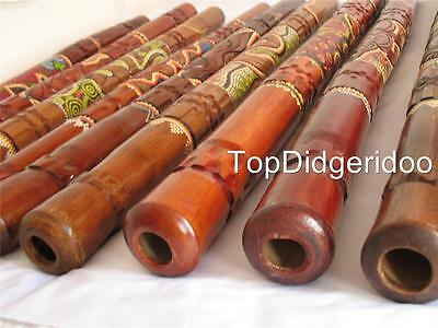 With minor aesthetic faults ABORIGINAL DIDGERIDOO ANIMAL HANDCARED & DOT-PAINTED