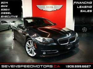 2014 BMW 5 Series 535XI DIESEL AWD | NAVI | PREMIUM | FINANCE @4
