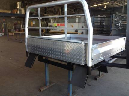 Water Tank Fabricated New (Tray, Under body, Cabguard)