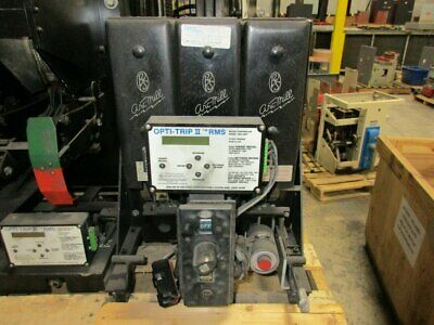 Rs-25 Roller Smith 600a Modo Lsig Air Circuit Breaker