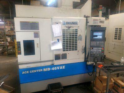 Okuma Mb-46vae Vertical Machining Center 30 X 18 X 18 Osp E100m New 2003