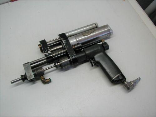 Ingersoll Rand Power Feed Drill Motor w Jacobs 7BA 1/4 Drill Chuck ? RPM