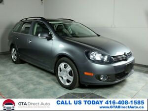 2014 Volkswagen Golf Wagon Highline TDI Panoroof Leather Heated