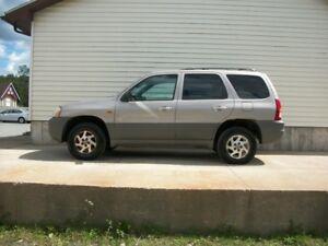2001 Mazda Tribute MANUAL SHIFT SUV