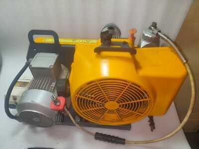 Bauer Poseidon Pe100-te-f02 330 Bar High Pressure Breathing Air Scuba Compressor