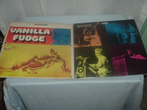 Vanilla Fudge Vinyl Record Albums,Classic Rock,Classic Vinyl Music Records.