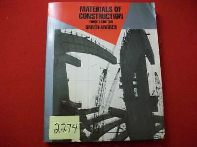 Materials Of Construction By Smith-andres 1988 Mcgraw-hill Very Informative