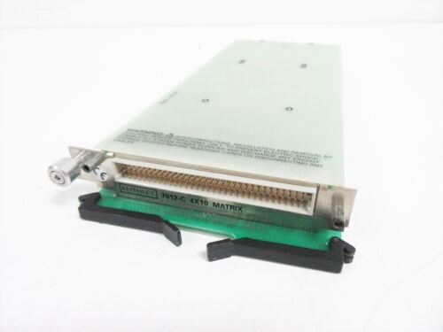 KEITHLEY 7012-C 4X10 MATRIX MODULE FOR 7001 & 7002 MAINFRAMES
