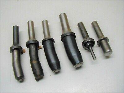 6 Rivet Gun Riveter Sets .401 Shank Aircraft Tools