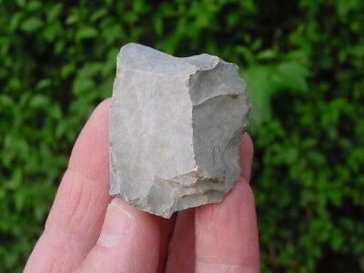 RARE Mesolithic PORTLAND CHERT Patinated SIDE SCRAPER Dorset England