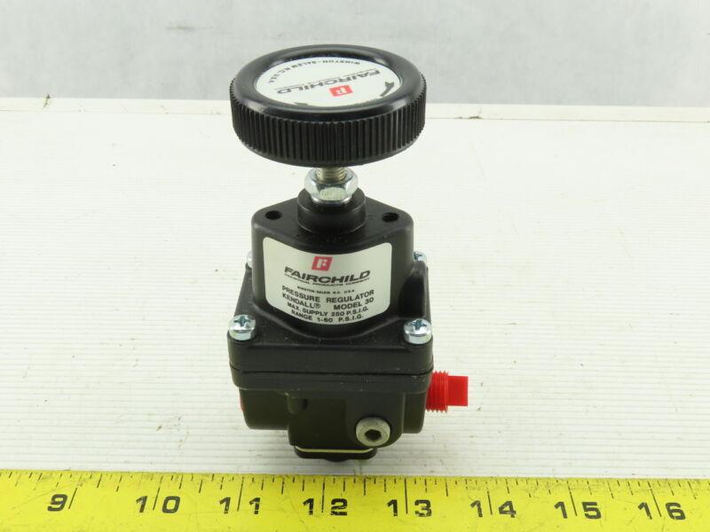 """Fairchild Model 30 1/4"""" NPT Air Pressure Regulator 1-60 PSI"""