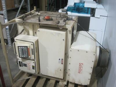 Safeline Flow Through Metal Detector 10 6x15 Bottom Control Reject Divert