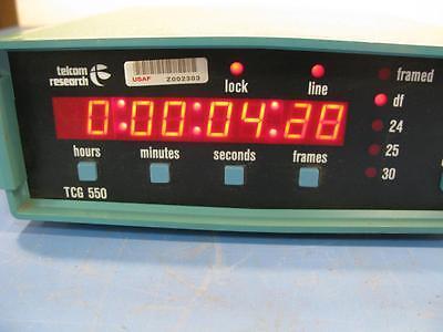 Telcom Research Time Code Generator