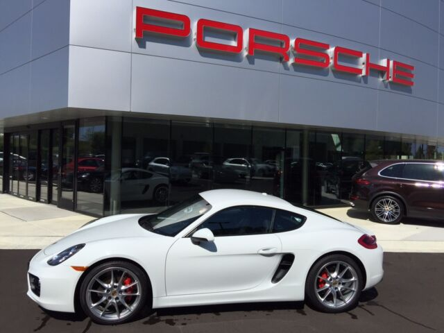 2014 PORSCHE CAYMAN S ONE OWNER CERTIFIED PORSCHE WARRANTY
