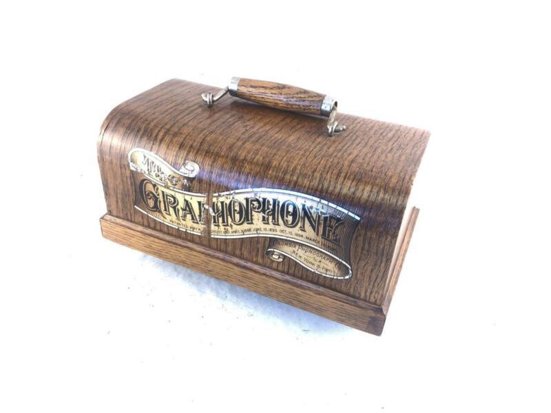 Case Lid for Antique Columbia Graphophone Type B