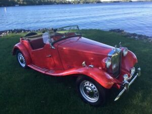 1952 MG TD MARK ll ONLY 35000 miles