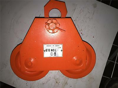 Ce Bb Mpn 258 Heavy Duty Industrial 3 Ton I Beam Trolley Tool Hoist Hanger