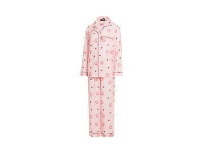 Kakao Friends Harvest Pink Pajamas For Women Free Size Ryan Autumn Sleepwear