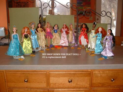 PICK ONE LOT ~ 5 pc DISNEY PRINCESS BARBIE DOLL CLOTHES SHOES ~ SEE ALL PHOTOS