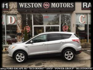 2013 Ford Escape SE*ECO-BOOST*AWD*POWER GROUP*BLUETOOTH*