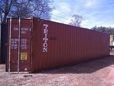 Wind And Water Tight Shipping Cargo Containers 40 And 20 Florence Sc