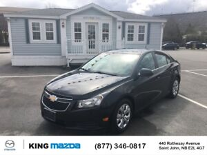 2014 Chevrolet Cruze 1LT- $92 B/W SUNROOF...TURBO 4 CYL..6 SPEED