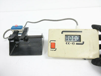 Schleuniger Cc-12 Part Counter With Fixture Cc-15