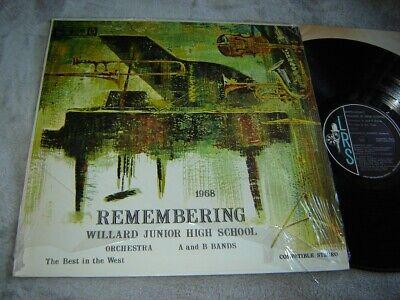 Willard Junior High School - Remembering 1968 LP LRS private Best in (Best High School Memory)