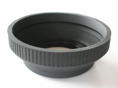 62MM COLLAPSIBLE RUBBER LENS HOOD QUALITY METAL MOUNT Mount Hood 62 Mm