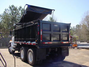 Asphalt Dump Truck Tarp with Side Flaps for a 16' Bed