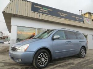 2011 Kia Sedona 7 PASSNGERS,LEATHER,SUNROOF, BACK UP CAMERA,NAVI